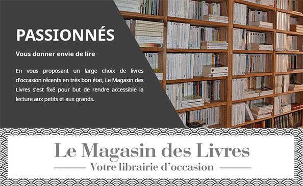 9 mars 2021 - Des nouvelles du site de la librairie