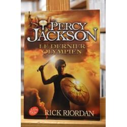 Percy Jackson 5 Le dernier Olympien Riordan Poche Roman jeunesse 10 ans occasion