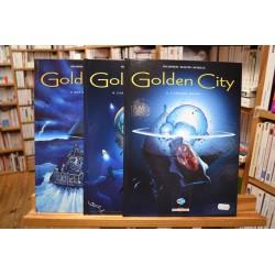 BD occasion Golden City Malfin Pecqueur