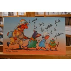 L'ogre, le loup, la petite fille et le gâteau Corentin École des Loisirs Album jeunesse souple 6-8 ans livres occasion Lyon