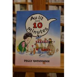 Au lit dans dix minutes Rathmann Les Lutins École des Loisirs Album jeunesse souple 0-3 ans occasion Lyon