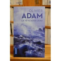 La tête sous l'eau Olivier Adam Pocket Roman Poche occasion