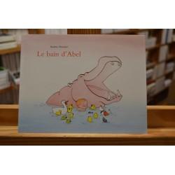 Le bain d'Abel Poussier Les Lutins École des Loisirs Album jeunesse souple 0-3 ans occasion Lyon