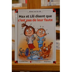 Max et Lili disent que...
