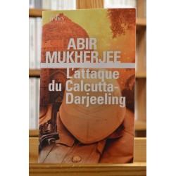 L'attaque du Calcutta-Darjeeling Mukherjee Folio Policier Poche Thriller occasion