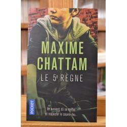 Le 5e règne Chattam Pocket Roman Thriller Poche occasion