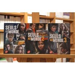 Lot 3 tomes Seuls au monde Laybourne Série complète 13 ans Roman Poche jeunesse occasion