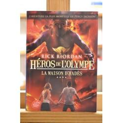 Héros de l'Olympe 4 La maison d'Hadès Riordan Poche Roman jeunesse 10 ans occasion