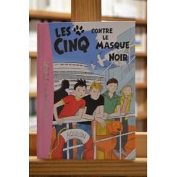 Les Cinq contre le Masque noir Blyton Bibliothèque rose Roman jeunesse Poche occasion