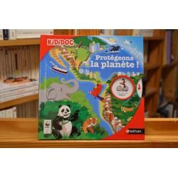 Kididoc Protégeons la planète Nathan Documentaire 6 ans jeunesse livre occasion Lyon