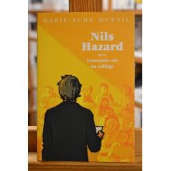 Nils Hazard chasseur d'énigmes 2 l'assassin est au collège Murail Médium L'école des loisirs roman jeunesse occasion Lyon