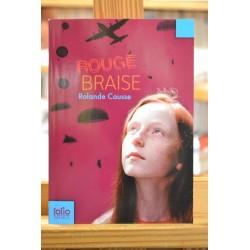 Rouge Braise Causse Folio junior Roman jeunesse Poche occasion Lyon
