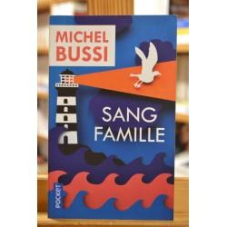 Sang famille Bussi Pocket Policier Poche Roman occasion Lyon