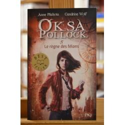 Oksa Pollock 5 Le règne des félons Plichota Wolf PKJ Pocket jeunesse Roman Ado Poche occasion Lyon