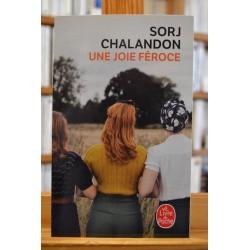 Une joie féroce Chalandon Le Livre de poche Roman Poche livre occasion Lyon