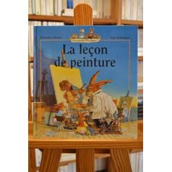 La leçon de peinture La famille passiflore Huriet Jouannigot Milan Album livre jeunesse occasion Lyon