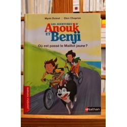 Les aventures d'Anouk et Benji Où est passé le Maillot jaune Nathan Premiers romans jeunesse livre occasion Lyon