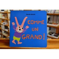 Comme un grand Bisinski École des Loisirs Album jeunesse 0-3 ans occasion livres Lyon