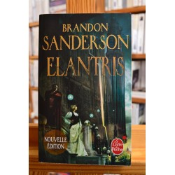 Elantris Sanderson Roman Fantasy Fantastique Poche livre occasion Lyon