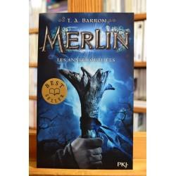 Merlin 1 Les années oubliées Barron PKJ Pocket jeunesse Roman fantastique livre occasion Lyon