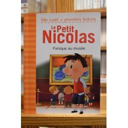 Le Petit Nicolas Panique au musée Folio cadet premières lectures jeunesse occasion Lyon