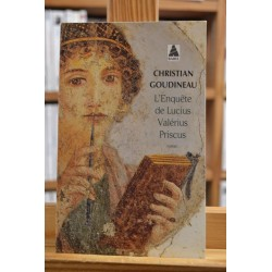 L'Enquête de Lucius Valérius Priscus Goudineau roman historique Antiquité Babel Roman Poche occasion