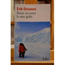 Briser en nous la mer gelée Orsenna Académie française Folio Roman Poche occasion