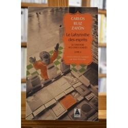 Le cimetière des Livres oubliés 4 Le labyrinthe des esprits Ruiz Zafon Babel Roman Poche occasion