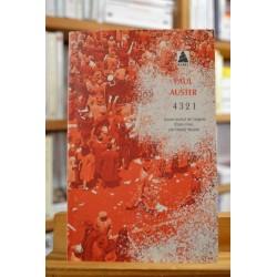 4 3 2 1 Paul Auster littérature américaine Babel Roman Poche occasion