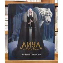 Anya et le tigre blanc Bernard Roca École des Loisirs Album jeunesse souple 8-11 ans occasion