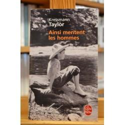 Ainsi mentent les hommes Nouvelles Taylor Le Livre de poche Roman Poche occasion