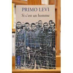 Si c'est un homme Primo Levi Autobiographie Pocket poche occasion