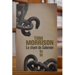 Le chant de Salomon Morrison Nobel 10*18 Roman Poche occasion