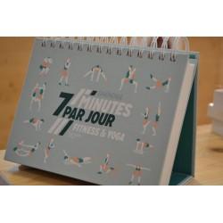 Éphéméride 7 minutes par jour Fitness et Yoga Hachette Bien être Sport livre occasion Lyon