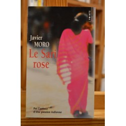 Le sari rose Sonia Gandhi Moro Points Roman biographique Poche occasion