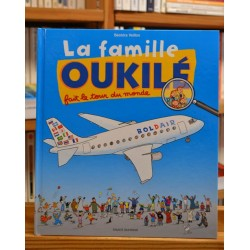 La famille Oukilé fait le tour du monde Veillon album Bayard jeunesse occasion