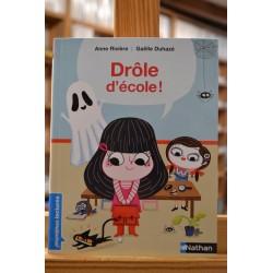 Drôle d'école Rivière Duhazé Nathan Premières lectures romans jeunesse livre occasion