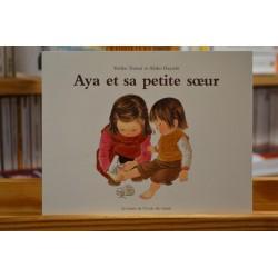 Aya et sa petite soeur Yoriko Tsutsui Akiko Hayashi Les Lutins École des Loisirs Album jeunesse souple occasion Lyon