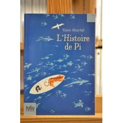 L'histoire de Pi Martel Folio junior 12 ans Ado Roman jeunesse Poche occasion