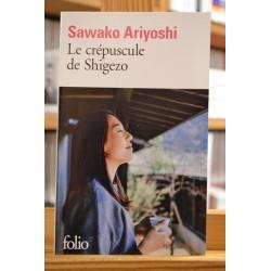 Le crépuscule de Shigezo Sawako Ariyoshi Japon Roman Folio Poche occasion Lyon
