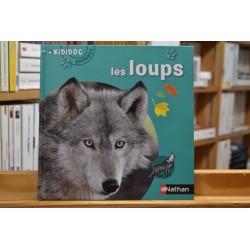 Les loups Kididoc animaux Nathan Documentaire 6 ans jeunesse livre occasion Lyon