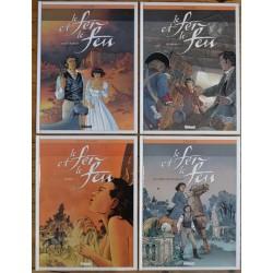 Le Fer et le Feu Intégrale en 4 tomes BD occasion