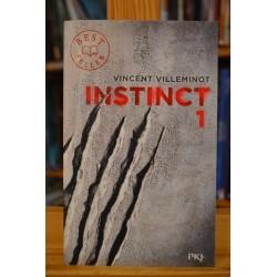 Instinct 1 Villeminot PKJ Pocket jeunesse Roman Ado Poche occasion