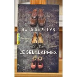 Le sel de nos larmes Sepetys Gallimard jeunesse Roman Ado Poche occasion