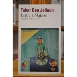 Lettre à Matisse et autres écrits sur l'art Ben Jelloun Folio Peinture Poche occasion
