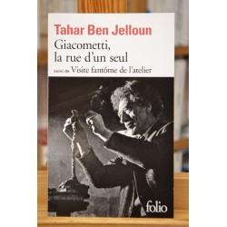 Giacometti, la rue d'un seul - suivi de Visite fantôme de l'atelier Ben Jelloun Folio Roman Poche occasion