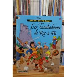 Johan et Pirlouit Tome 15 - Les Troubadours de Roc-à-Pic BD occasion