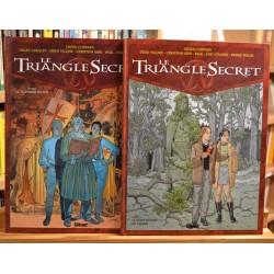 Le Triangle Secret Tomes 1 & 2 (EO, Édition originale) BD occasion