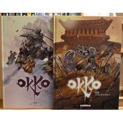 Okko - Le Cycle de la Terre - Tomes 3 & 4 BD occasion